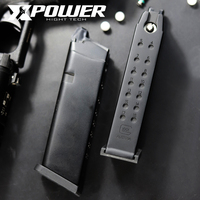 XPOWER GBB Magazine GAS GLOCK Clip G34/17 Gel Blaster Upgrated Airsoft Paintball Accessories Tactical Outdoor Sports