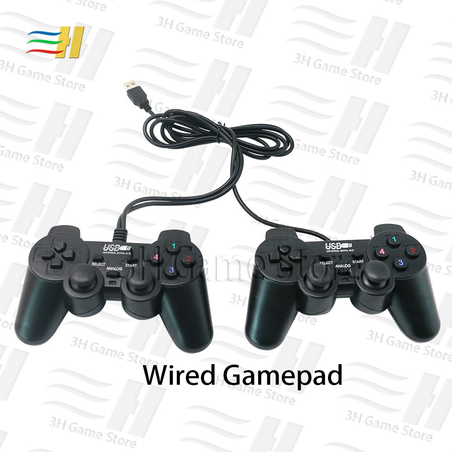 USB Wired Gamepad Wireless Gamepad 2 Player Joypad For Pandora Box 9d Arcade Version Family Version And Console Bartop 3P 4P