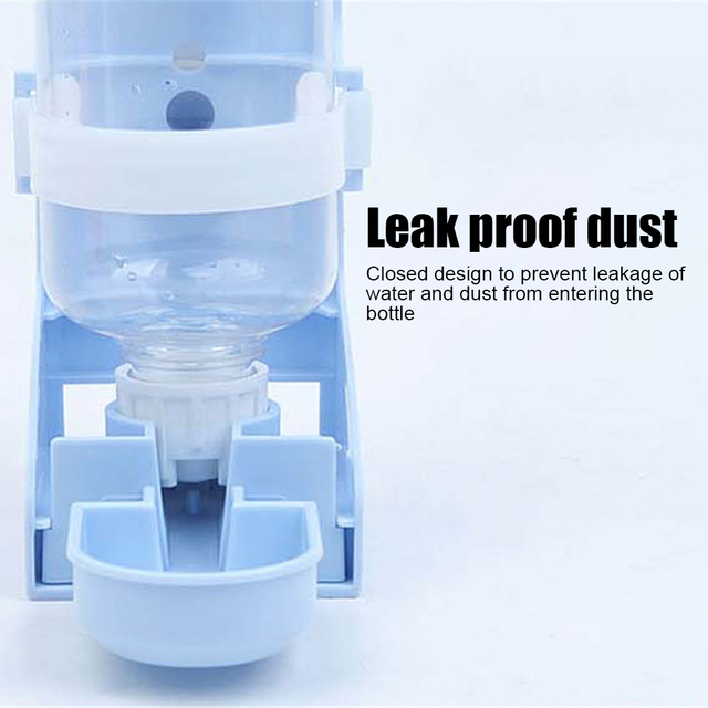 500ML Pet Feeding Dispenser For Rabbits- Dogs- Cats- Hamsters- Parrots 4