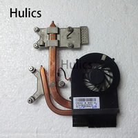 Hulics Orginal Laptop CPU Cooling radiator Heatsink and Fan for HP DV7 4000 DV6 3000 Q47 Q48 3MLX6TATP70 FCNLX67