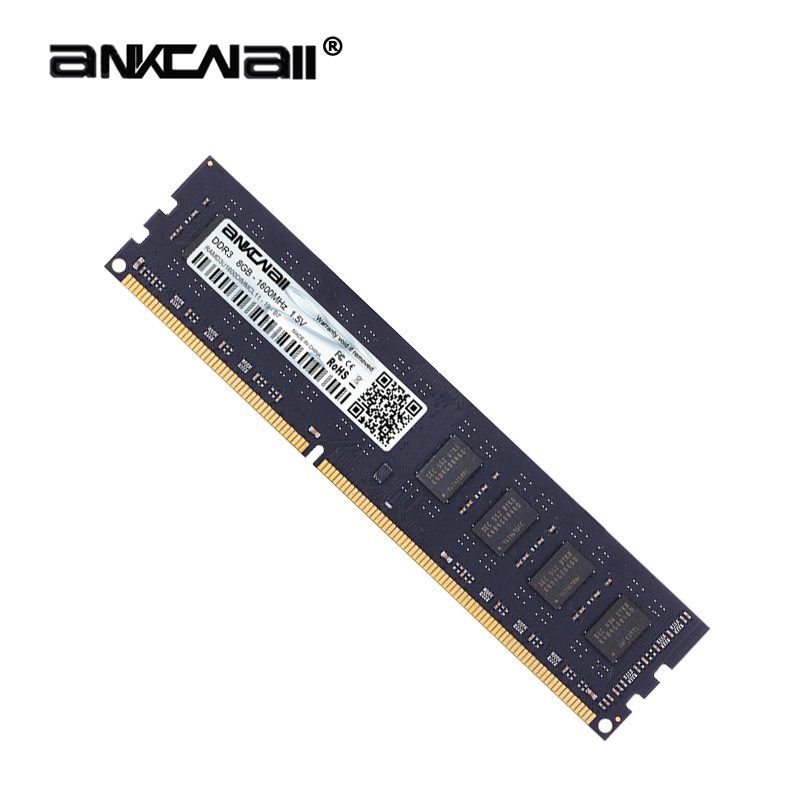ANKOWALL Ram DDR3 8GB 4GB 16G  1866MHz  1600Mhz 1333  Desktop Memory with heat Sink  240pin  New dimm stand by   AMD/intel  G41 2