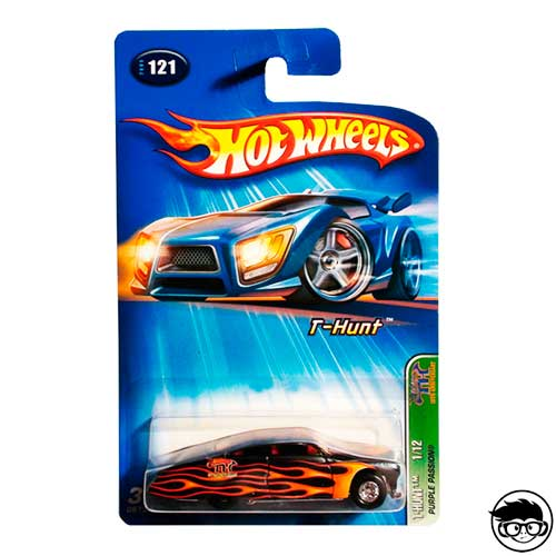 Hot Wheels Purple Passion Super Treasure Hunt 1/12 Nº121 2005 Long Card