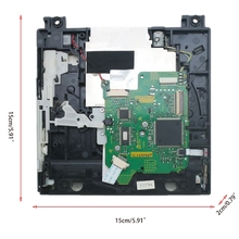 R58A Original DVD Drive Single ic Version Replacement Repair Part for Wii D4/D3-2/DMS/D2B/D2C/D2A/D2E Series with Screwdriver