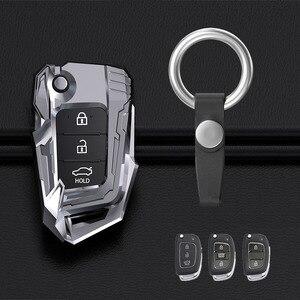 Image 5 - 2021 جديد حافظة مفاتيح السيارة عن بعد غطاء قذيفة لشركة هيونداي ix25 ix35 i10 i20 سولاريس توكسون سوناتا سانتا في سبورت إلنترا كريتا فيرنا