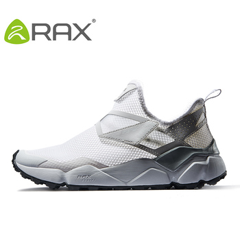 RAX Running Shoes For Mens Mesh Sports Sneakers Men Outdoor Jogging Walking Shoes Breathable Trainners Gym Sneakers Shoes Man фото