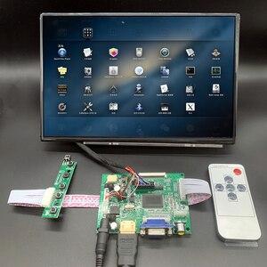 10.1 HD LCD Display Screen High Resolution Monitor Remote Driver Control Board 2AV HDMI VGA For Raspberry Pi Mini computer(China)