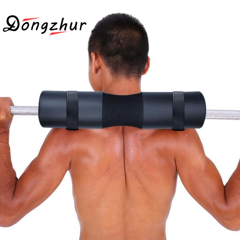 Sponge Barbell Neck Shoulder Back Protect Pad Weightlifting 2 Pull Barbell Colors Support Pad Lifting Weight Up Grip C1R2