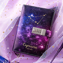 B6 Bullet Journal Diary Twelve Constellations Notebook with