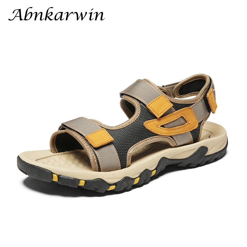 Fashion Mens Sandals Summer 2020 New Sandal Sandalias Hombre Deportivas Casual Sandles Beach Outdoor Breathable Trekking Sandle