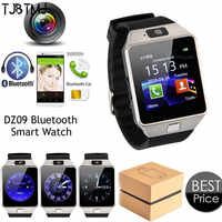 2019 New Bluetooth Smart Watch watch DZ09 Android Phone Call Relogio GSM SIM Slot Camera for Samsung