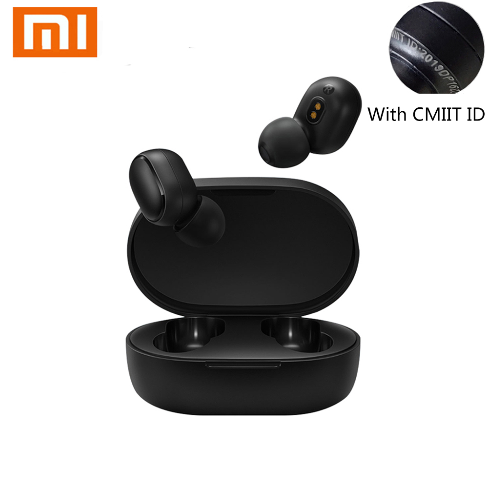 Xiaomi redmi airdots xiaomi 5.0 <font><b>tws</b></font> earphone <font><b>Mi</b></font> Sports Bluetooth Headset headsets Wireless Bluetooth Earphones Earbud headpones image