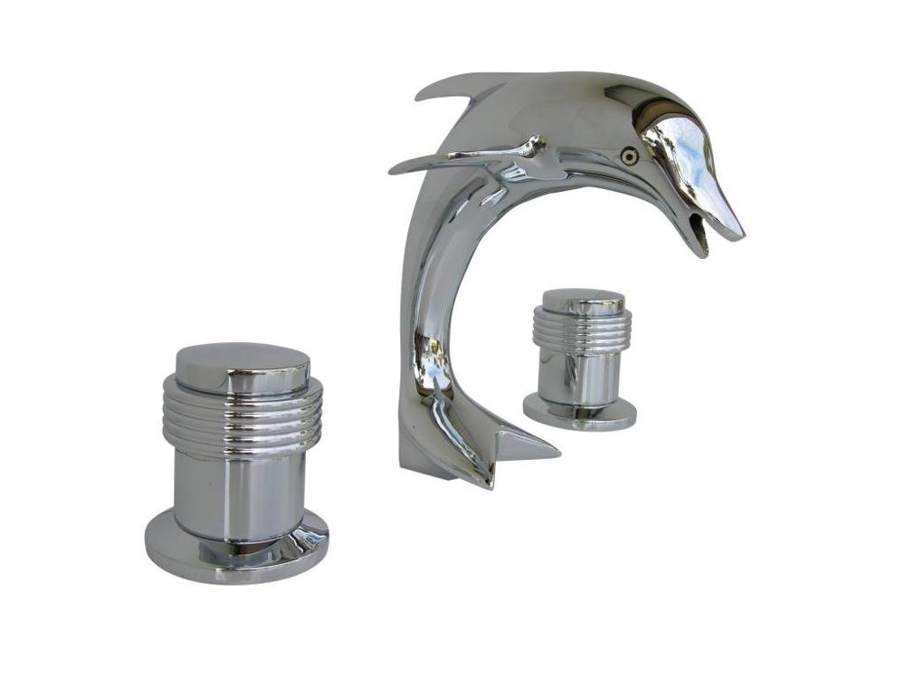 "CHROME 3 Holes 8"" WIDESPREAD LAVATORY BATHROOM SINK ..."