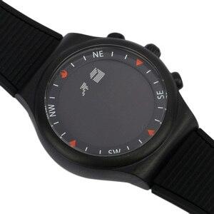 Image 5 - Muslim Azan Uhr für Gebet mit Qibla Kompass Adhan Alarm Hijri Kalender Islamischen Al Harameen Fajr Zeit Armbanduhr Arabisch Uhr