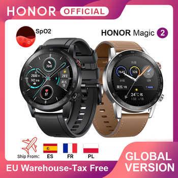 In Lager Globale Version Ehre Magie Uhr 2 Smart Uhr Bluetooth 5,1 Smartwatch 14 Tage Wasserdichte Sport MagicWatch 2