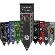 Домашний декор Саурон темно Лорд башня во время прекели флаги