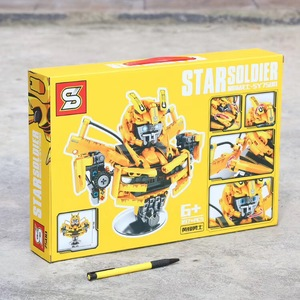 Image 5 - NEW 2020 Star Soldier Optimus Prime Bumblebee Transformation Robot Building Blocks Toys For Childrens Gifts