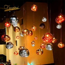 Modern LED Pendant Lights Lighting Art PVC Hanging Loft Pendant Lamp Industrial Decor Lights Fixtures Kitchen Restaurant Lustre nordic gold silver glass ball loft led pendant lights restaurant bar industrial lighting pendant lamp kitchen fixtures luminaria