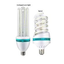 U shape LED Corn Bulb Lamp screw spiral E27 Energy Saving Bombillas Led Lights for Chandelier Home Lighting LED Bulb AC220V