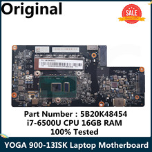 Laptop Motherboard Lenovo Yoga I7-6500U 900-13ISK NM-A411 for 5b20k48454/Byg40/Nm-a411/I7-6500u