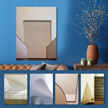 Canvas Painting Abstract Poster Wall Art Print Architecture stairs Corridor Space Pictures Living Room Home Decor Drop Shipping wall art canvas painting stairs corridor space buildings abstract poster print pictures for living room home decor drop shipping