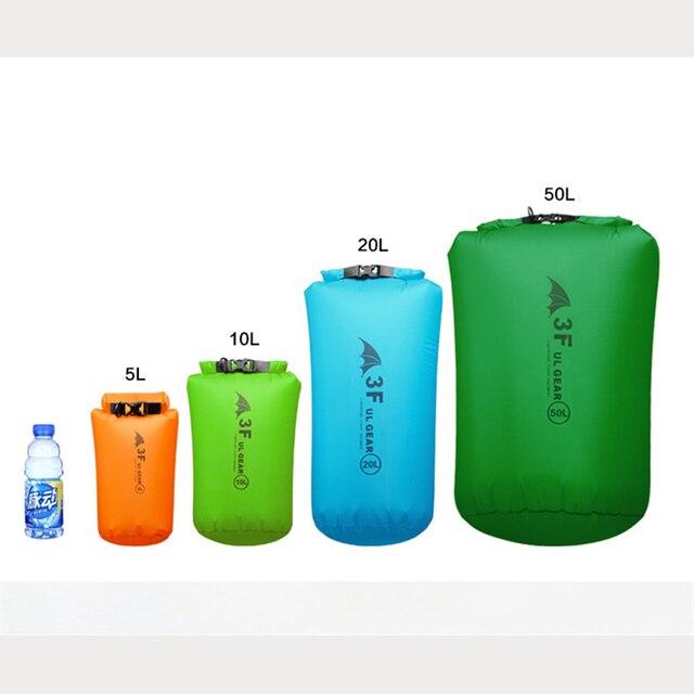 3F UL GEAR 15D 30D Ultralight drybag waterproof bag  3