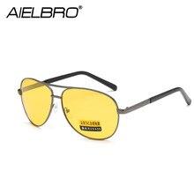 AIELBRO TAC Polarized Sunglasses Photochromic Men Women Night Vision Driving Glasses Goggles Driver Yellow Sun Glasses UV400