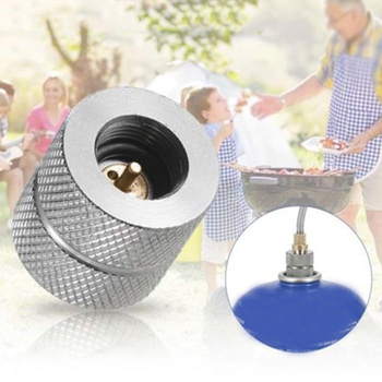 1x Camping Stove Gas Refill Adapter Converter Cylinder Filling Butane Canister