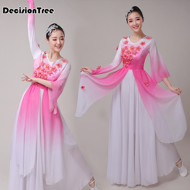 2020 Traditional Hanfu Dance Costume Women Dynasty Costume Chinese Costume Oriental Dress Ancient Princess Clothing For Women