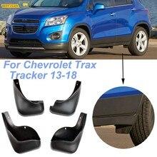 Antisalpicaduras para Chevrolet Trax rastreador Holden 2013, 2014, 2015, 2016, 2017, 2018 guardabarros delantero trasero guardabarros