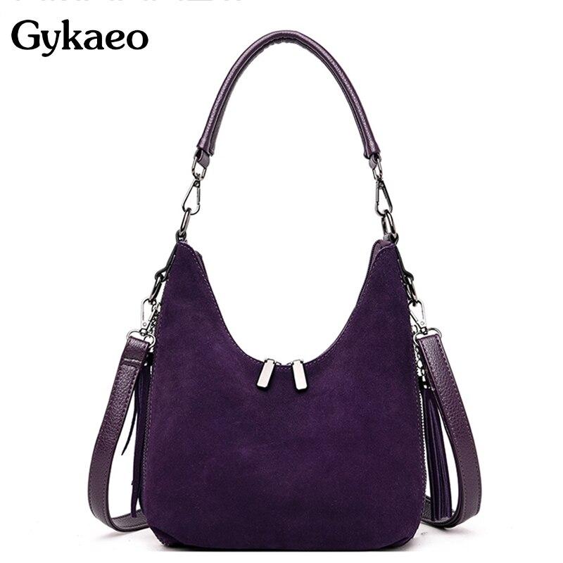 High Quality Luxury Handbags Women Bags Designer Suede Leather Fashion Tote Bag Ladies Casual Crossbody Bags For Women Handbag