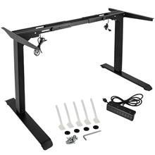 Elektrische Einstellbare Tisch Rahmen Aufstehen Schreibtisch Rahmen w/ Dual Motor Höhe Einstellbar Steh Tisch Basis