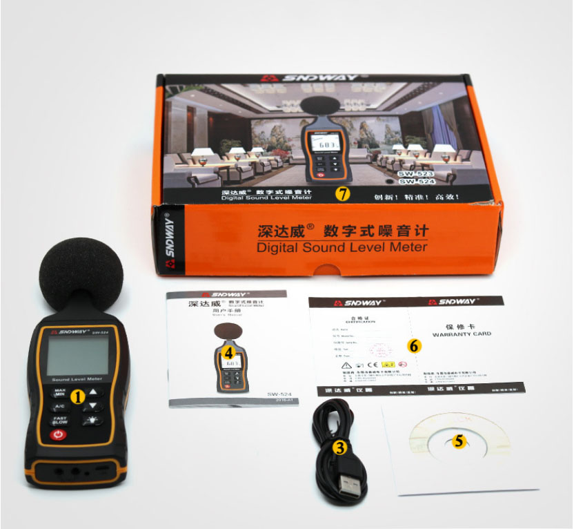 Cheap Medidores de nível de som