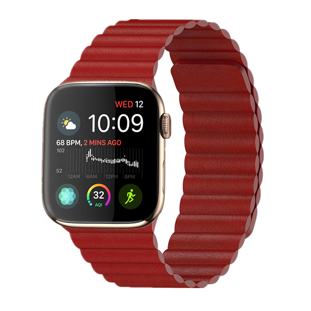 Leather Loop For Apple watch band Apple watch 5 4 3 band 44mm 40mm iWatch band 42mm 38mm correa bracelet apple watch Accessories