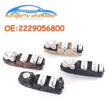 Novo carro 2229056800 a2229056800 interruptor da janela de energia para mercedes benz c klasse w205 s205 c180 c200 c220 c250 c300 c400 c450