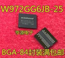 5 peças W972GG6JB-25 (128Mx16) DDR2 256MB BGA84