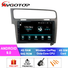 AVGOTOP Touch Screen Car DVD Gps FOR VOLKSAWGEN 2013-2015 GOLF 7 car dvd player touch screen(China)