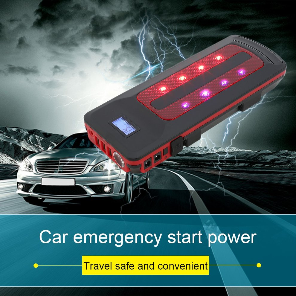 Car Emergency Power Bank Portable Solar Generator for Outdoor and Indoor Use with Portable Handle|Jump Starter| |  - title=