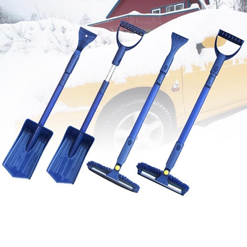 Voiture chaude fenêtre pare-brise neige claire voiture glace grattoir ensemble neige décapant pelle dégivreur pelle dégivrage nettoyage raclage outil