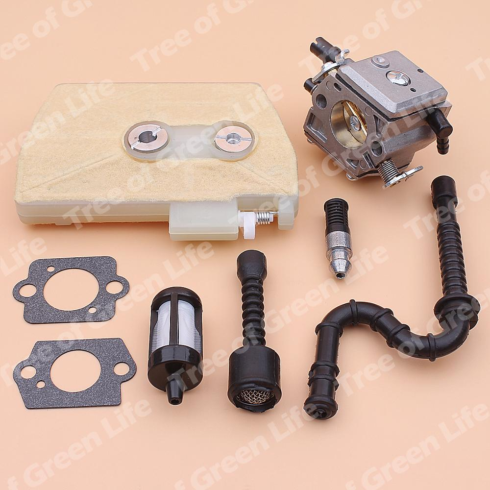 home improvement : Carburetor Carb For Stihl 038 MS380 MS381 Air Fuel Oil Fitler Line Chainsaw 1119 120 0650 1119 120 1607