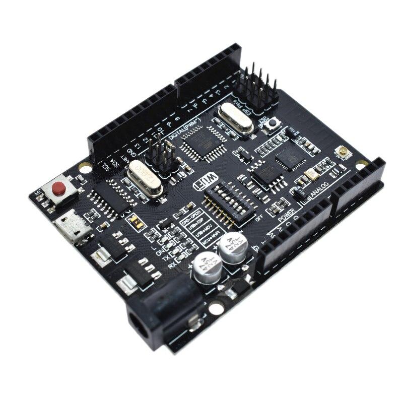 For UNO+WiFi R3 ATmega328P+ESP8266 32Mb USB-TTL CH340G For Arduino Uno NodeMCU WeMos