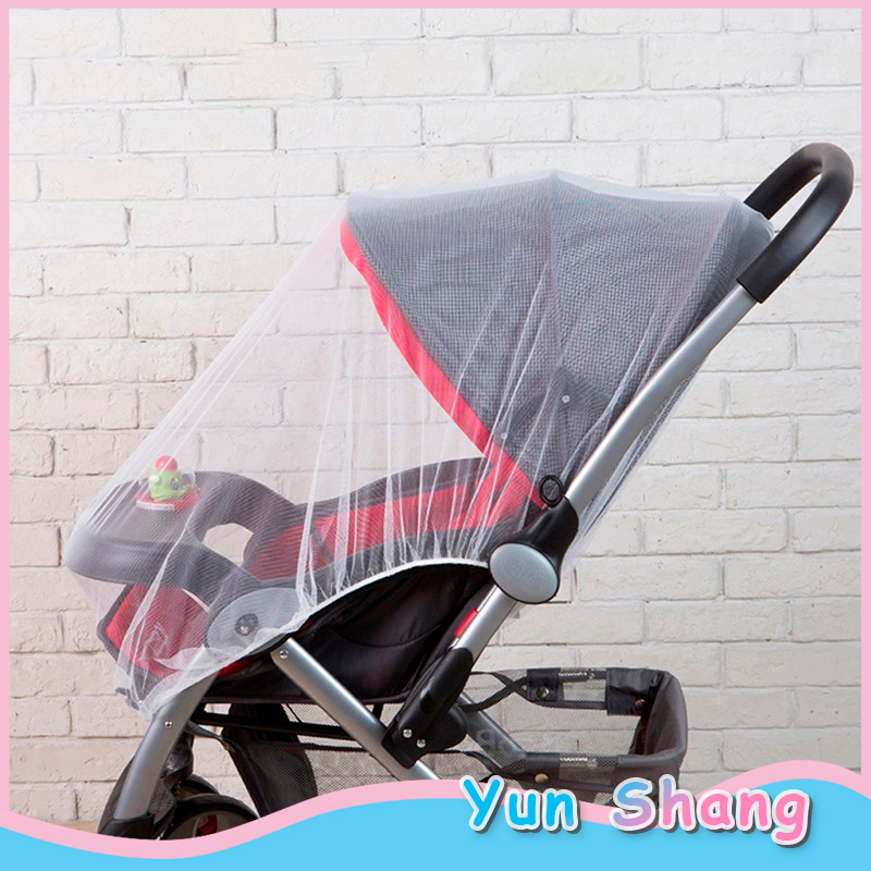 150cm Baby Cart Mosquito Net Stroller Mosquito Net Infants Baby Girl Boy Pushchair Mosquito Insect Net Safe Cart Mosquito Mesh