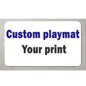 custom playmat large size mous