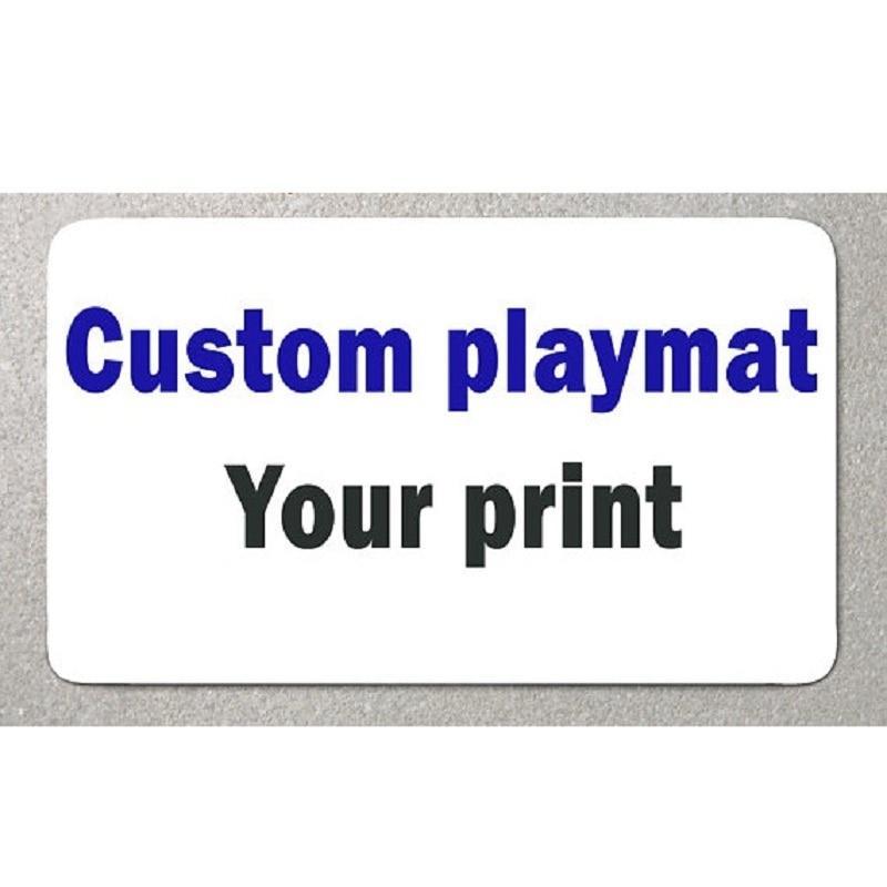 Custom Playmat Large Size Mouse Pad Board Game Magical Video Gaming DIY Play Mat Table Mat Printing Yugioh  Anime Idol Gathering