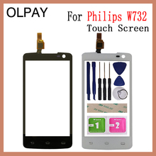 Mobile Phone TouchScreen For Philips Xenium W732 4.5