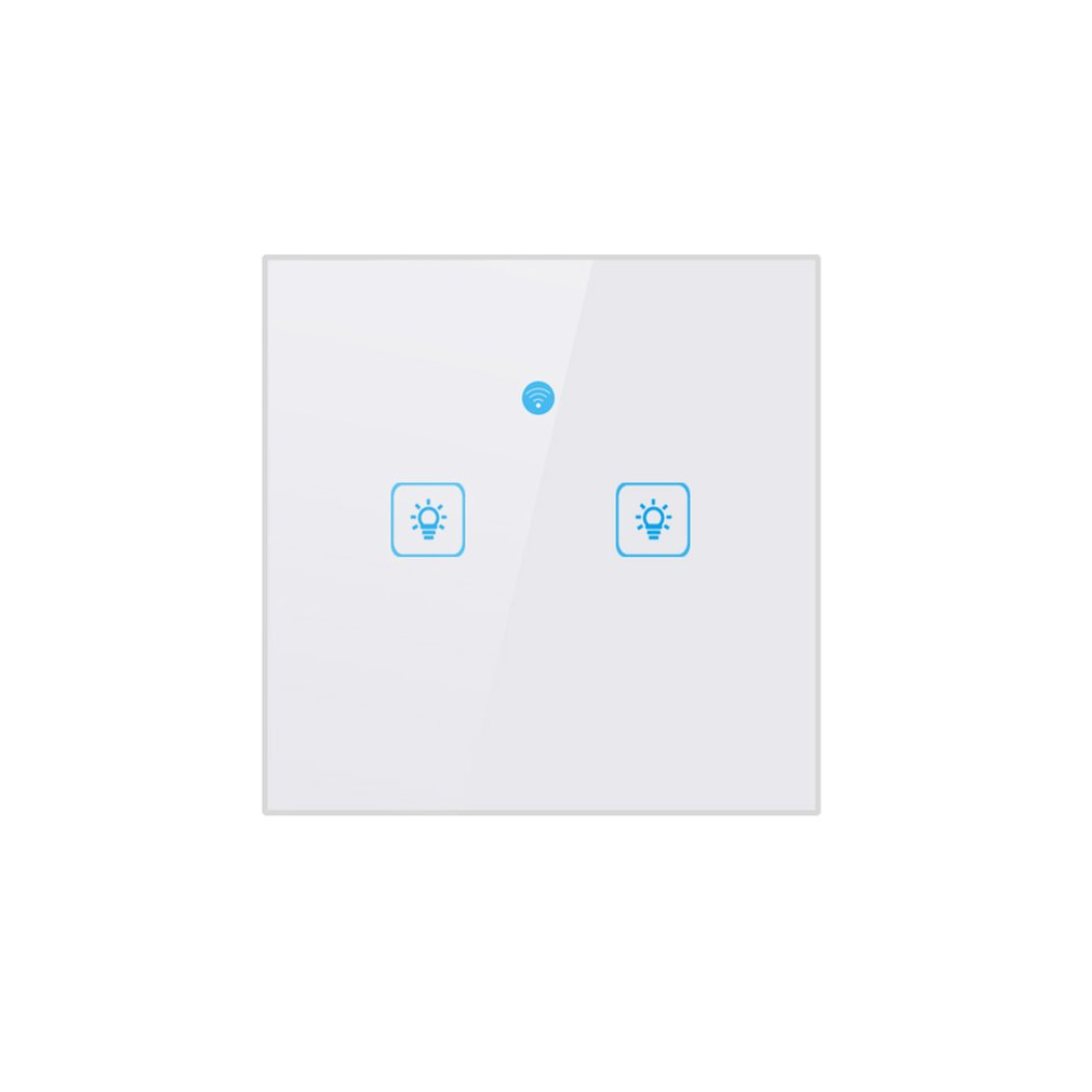 Norme européenne Eruiklink 1/2Gang sans fil télécommande interrupteurs intelligents maison télécommande mur tactile commutateur