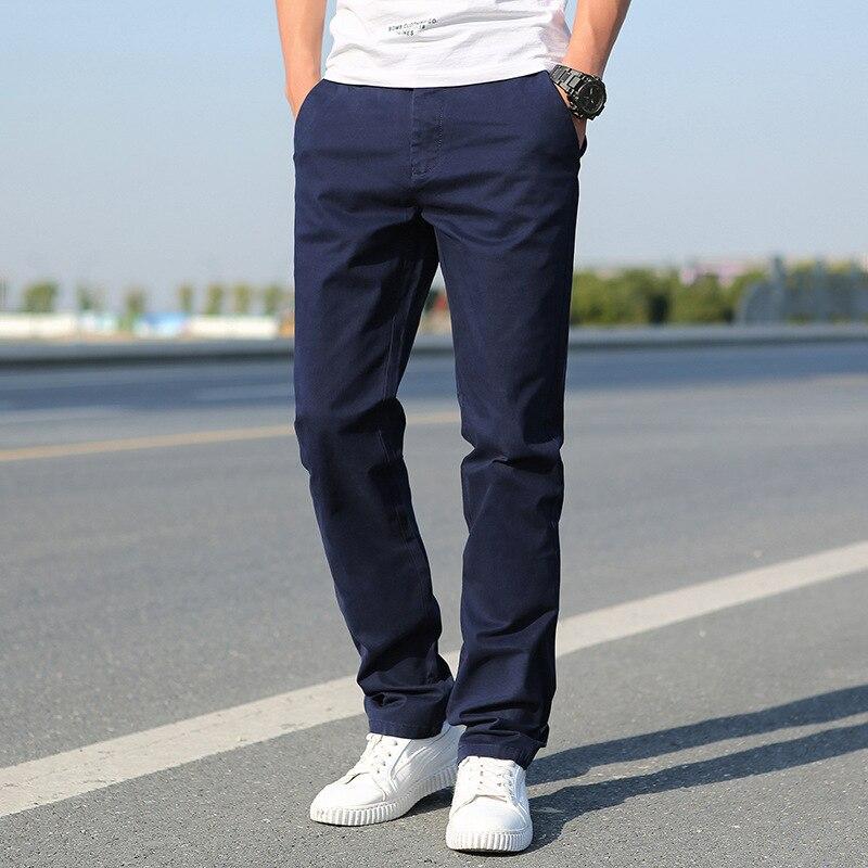 Spring Clothing Pants AliExpress MEN'S Casual Pants Popular Brand Pants Large Straight-leg Pants Fat Long Pants