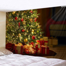 christmas tree Art Home Wall Hanging Tapestry Wall Ornamentation Christmas Wall Decor High Quality Tapestry Home Decor