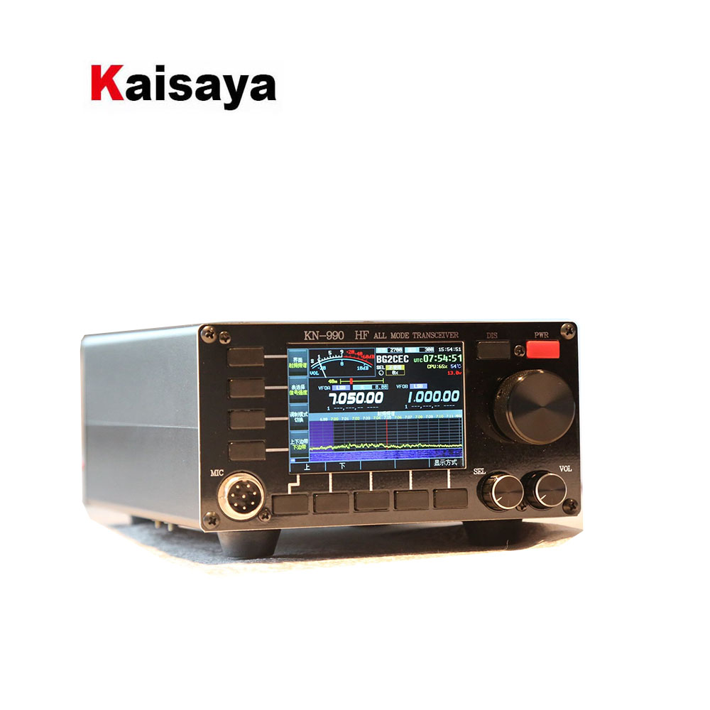 KN990 0,1 ~ 30MHz radio de onda corta 15W Gama Completa transceptor con Digital si DSP SSB/CW/AM/FM/DIGITAL T0315