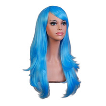 Long Wavy Cosplay Synthetic Hair Wigs