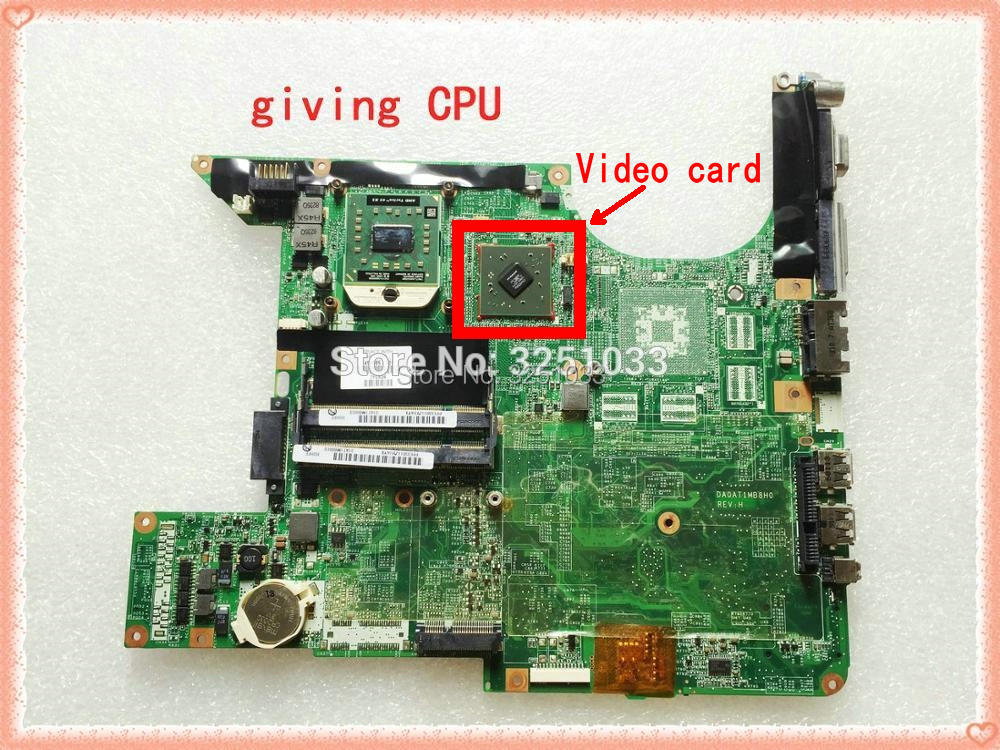 459565-001 For HP Pavilion Dv6000 Dv6500 Dv6700 Notebook Dv6800 Dv6900 Laptop Motherboard MCP67M-A2 100% Tested